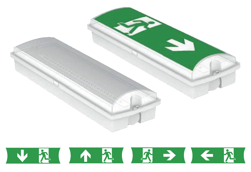 genstar emergency lighting LED bulkhead