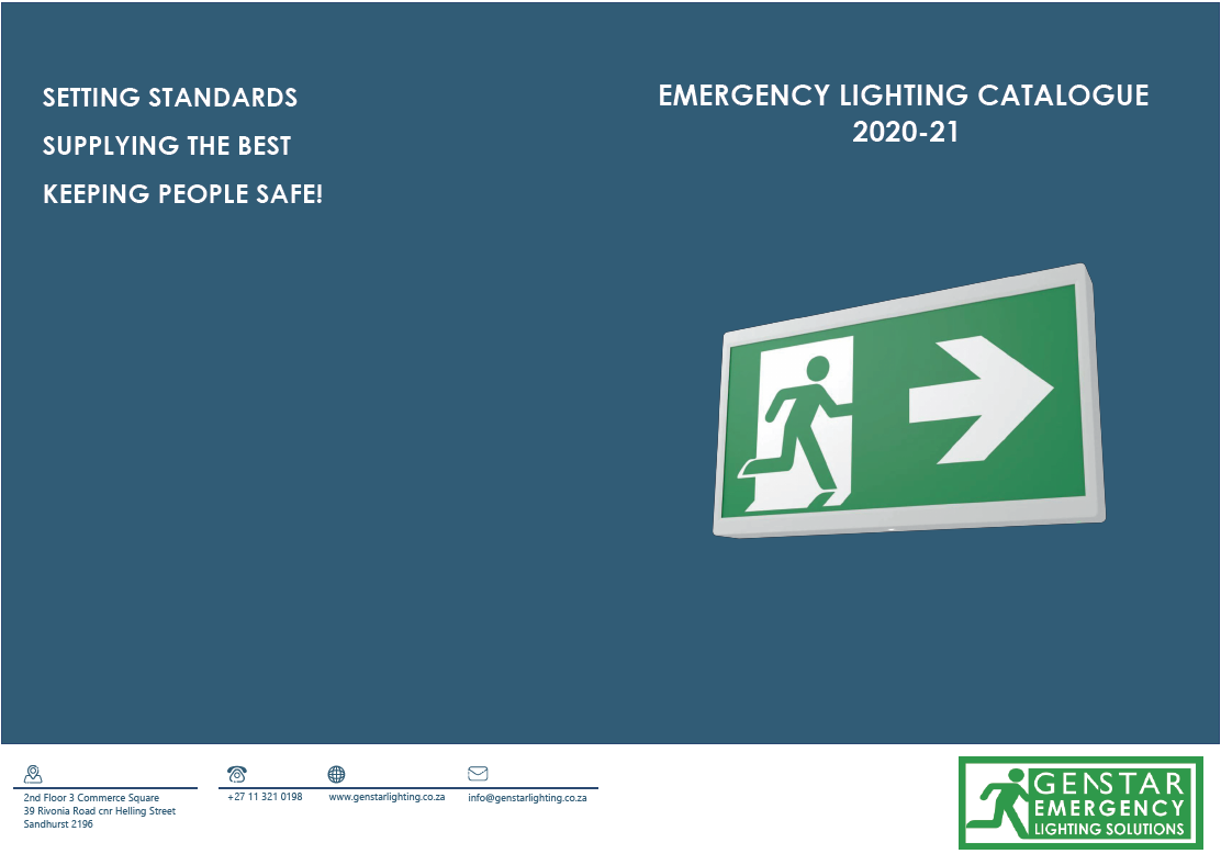 genstar emergency lighting catalogue