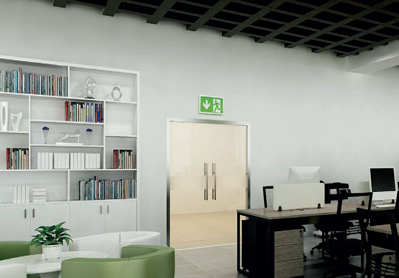 Genstar emergency exit sign wall mount preview